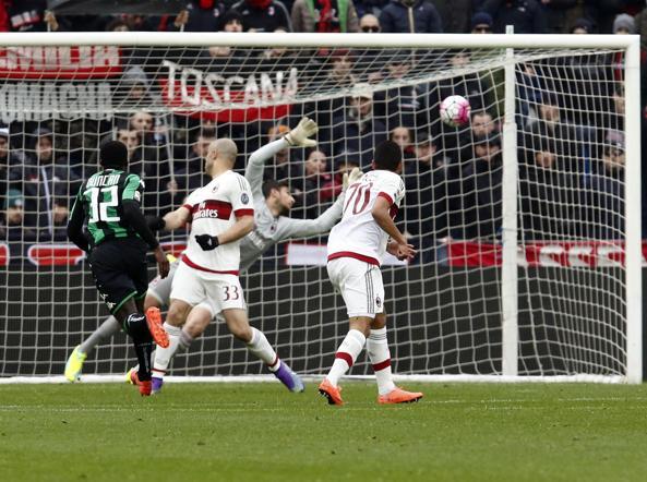Donnarumma incolpevole sul gol di Duncan (Ansa)