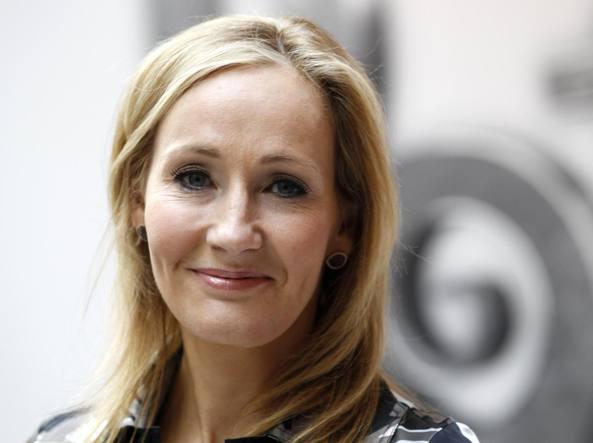 La scrittrice J.K.Rowling