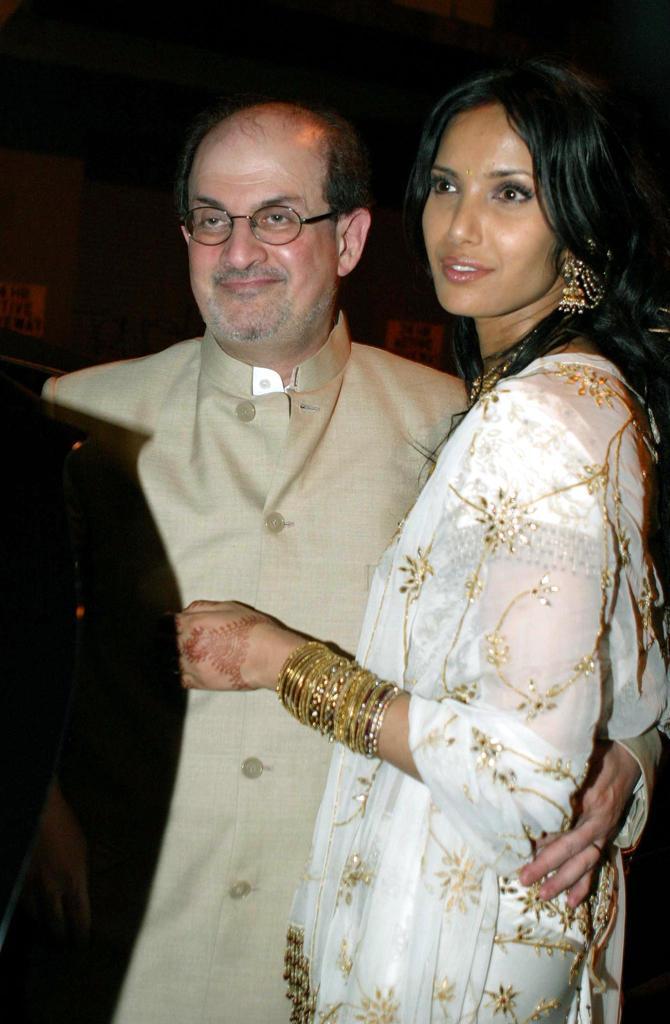 Padma Lakshmi e Salman Rushdie, dalla passione alla ...