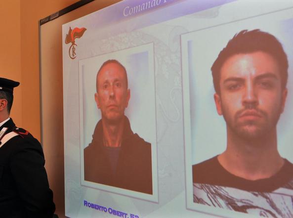 Roberto Obert e Gabriele Defilippi, accusati dell'omicidio di Gloria Rosboch (Ansa)