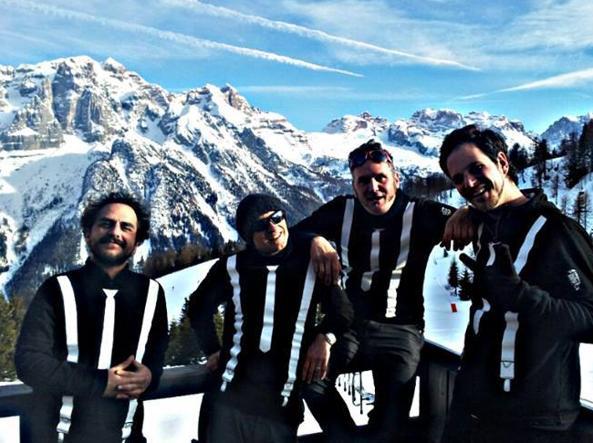 I  quattro componenti del Tony Mac Music Show morti nell'incidente (da Facebook)