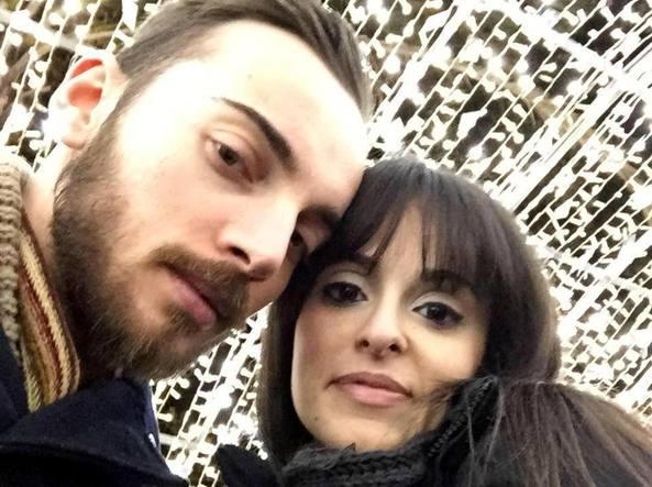 Ruotolo e Rosaria Patrone: entrambi arrestati per l'omicidio di  Trifone Ragone e Teresa Costanza (Ansa)
