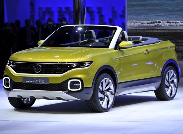 La Volkswagen T-Breeze Cross presentata al Salone di Ginevra (Getty