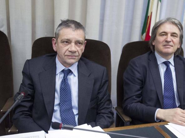 Carlo Verdelli e Antonio Campo Dall'Orto (Lapresse)