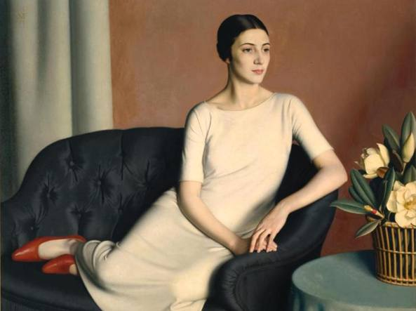 Meredith Frampton, Ritratto di Marguerite Kelsey (1928)