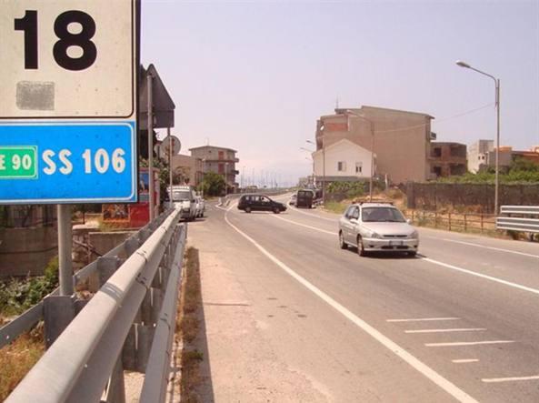 La statale 106 in Calabria