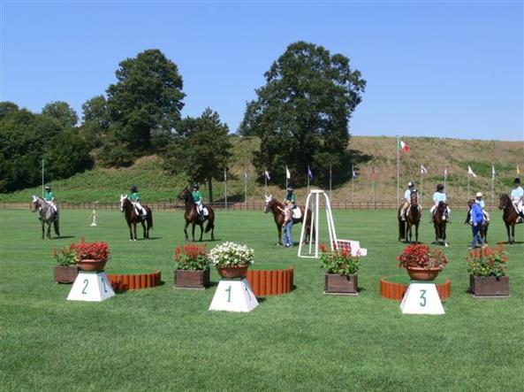 Gli impianti dei Pratoni del Vivaro, destinati all'equitazione