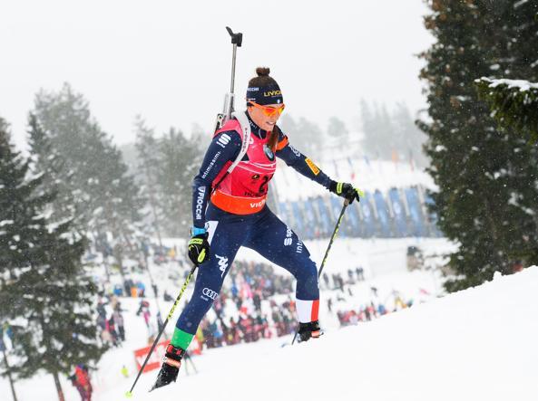 Dorothea Wierer  (Foto Afp)