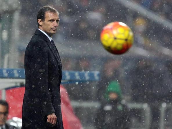 Massimiliano Allegri guida da due stagioni la Juventus (Ansa)