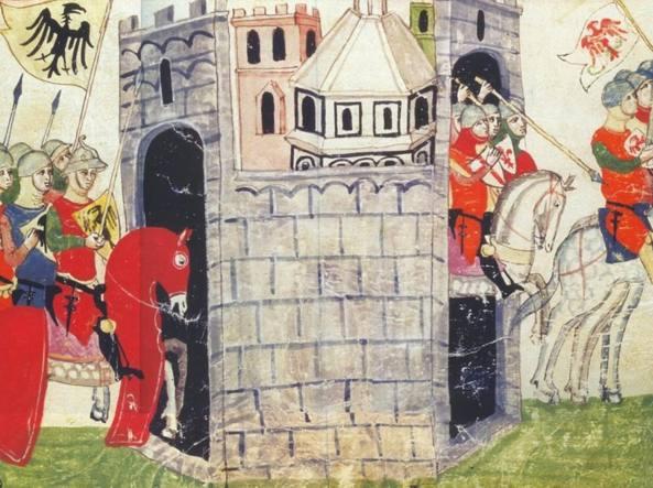Un'immagine dal Codice Chigi (XIII sec.)