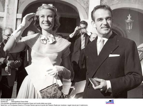 Grace e Ranieri (LaPresse)