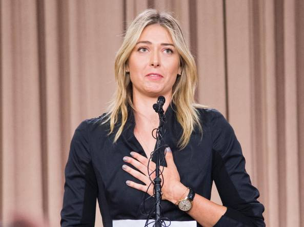 Maria Sharapova (Afp)