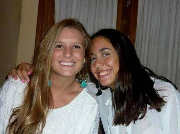 Marina Menegazzo (a sinistra) e Maria Coni, le due ragazze argentine uccise