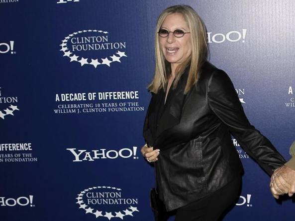 Barbra Streisand, 74 anni il 24 aprile