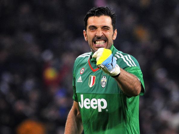 Gigi Buffon, decisivo e a soli 3' dal record di Seba Rossi  (LaPresse/Alpozzi)