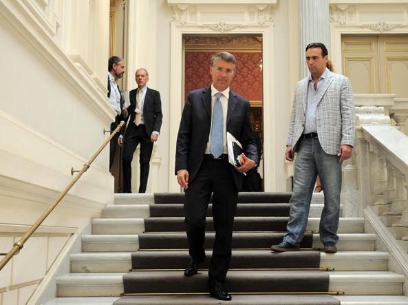 Il presidente dell'Autorit� nazionale   anticorruzione Raffaele Cantone (LaPresse)
