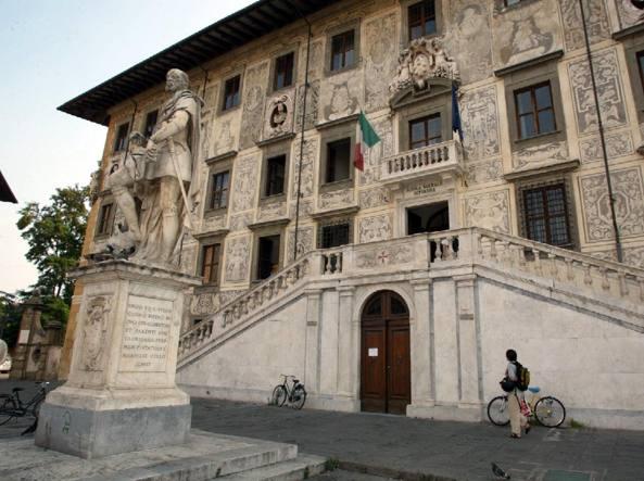 La facciata della Scuola Normale di Pisa (Ansa/Silvi)