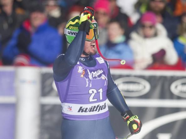 Dominik Paris vince la discesa di Kvitfjell
