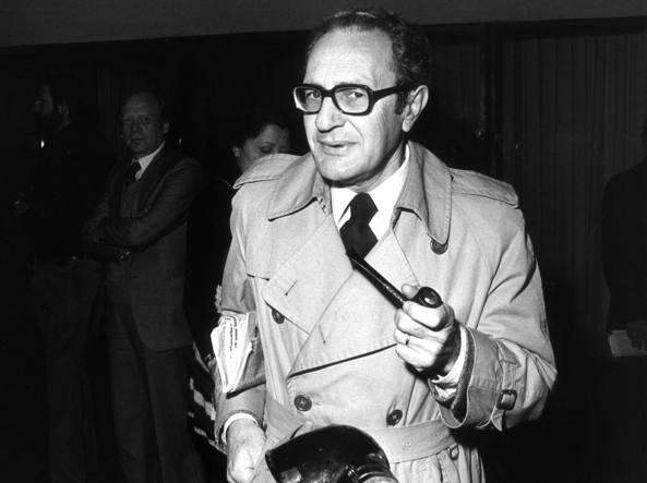 Enzo Forcella (1921-1999) creatore di Prima Pagina (foto Ombretta Carrea)
