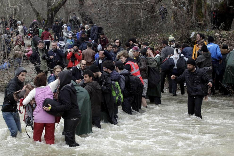 I Migrants In Una Sera