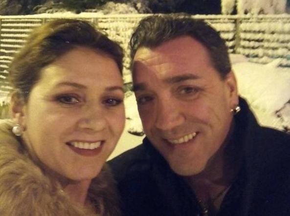 Alfonso Nello Caputo e la moglie (Ansa)