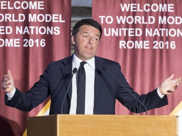 Il  premier Matteo Renzi (Jpeg)