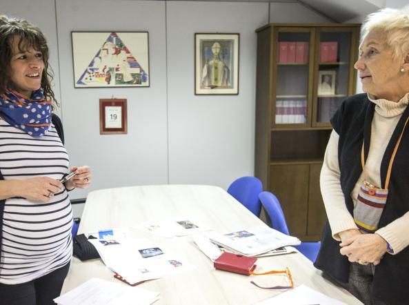Giulia Galeotti con Lucetta Scaraffia