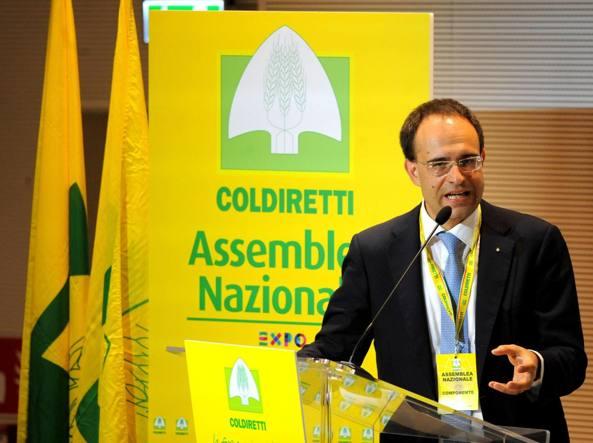 Roberto Moncalvo, presidente della Coldiretti