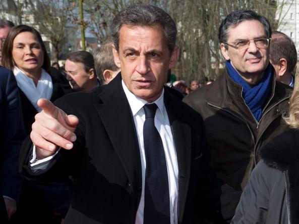 L'ex presidente francese Nicolas Sarkozy, 61 anni
