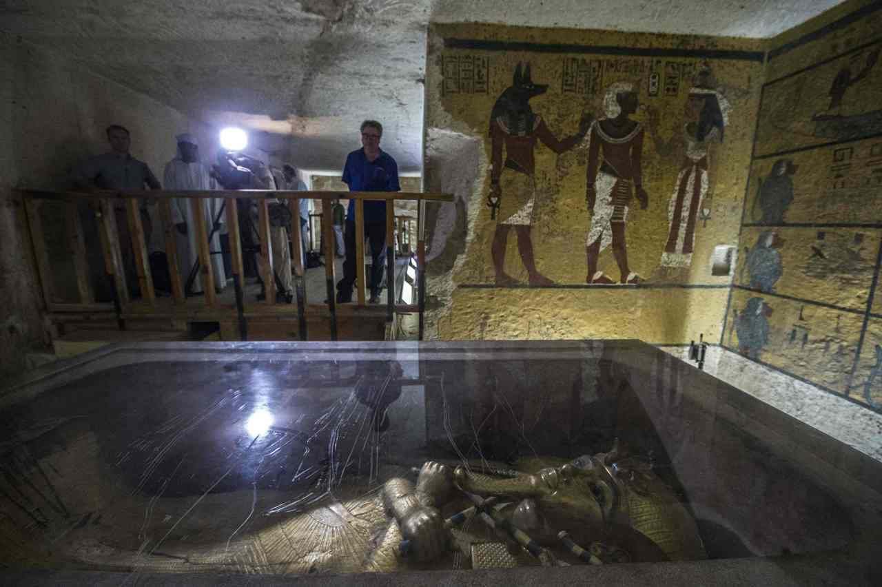 Tomba di tutankhamon le stanze segrete for Planimetrie uniche con stanze segrete