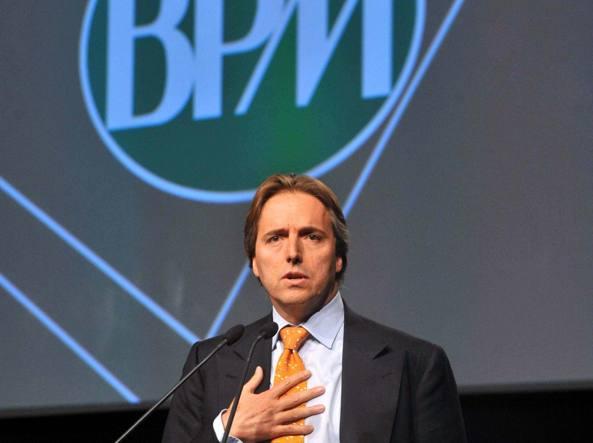 Andrea Bonomi nel 2012, quando era presidente del Consiglio di gestione di Bpm (Imagoeconomica)