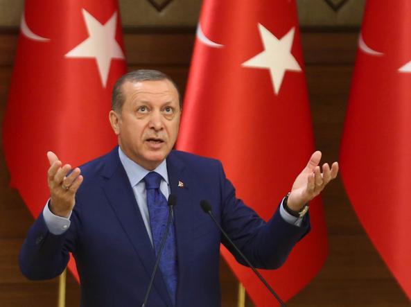 Il presidente ruco Recep Tayyip erdogan, 62 anni