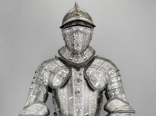 Armatura del Delfino Enrico II di Francia (1540 circa)