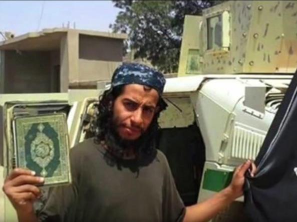 Abdelamid Abaaoud, uno degli ideatori degli attacchi di Parigi (Foto Epa)