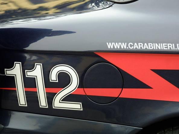 Una «gazzella» dei carabinieri (Fotogramma)