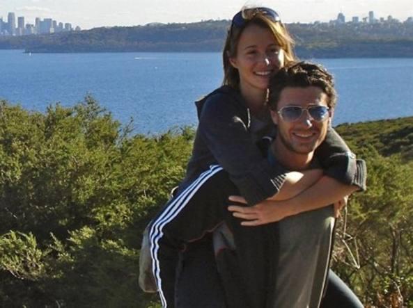Christian Cappello con la compagna Marta Lazzarin morta lo scorso dicembre