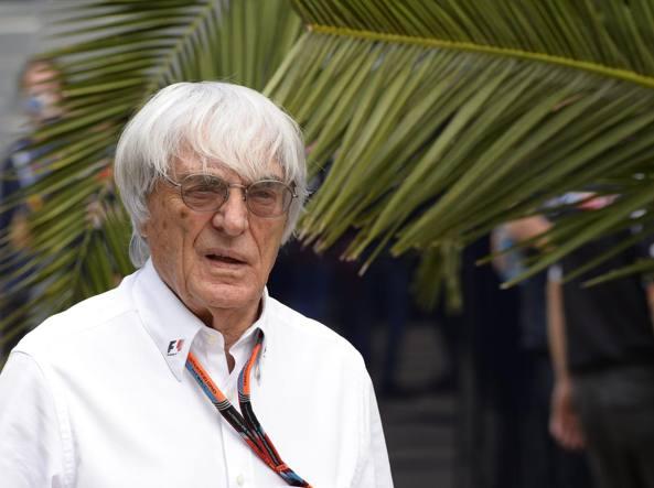 Bernie Ecclestone, 85 anni, patron della Fom (Studio Colombo)