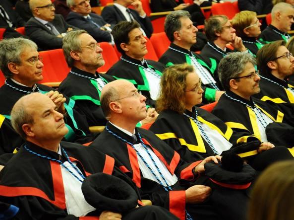 Inaugurazione dell'anno accademico a Brescia (Fotogramma)