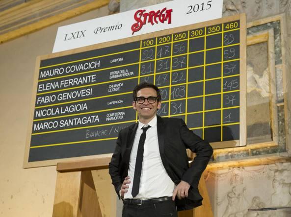 Nicola Lagioia, vincitore del Premio Strega 2015 con il libro La ferocia (Einaudi)