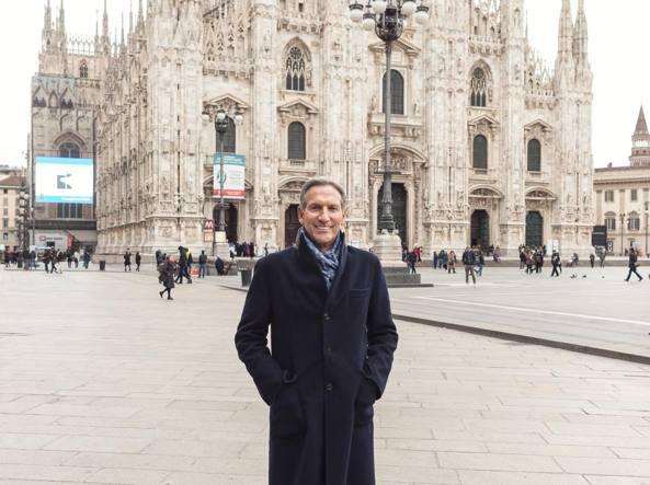 Howard Schultz a Milano
