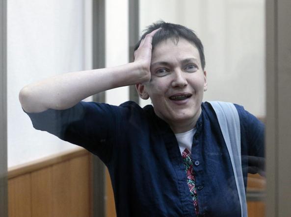 Nadezhda Savchenko (Epa)