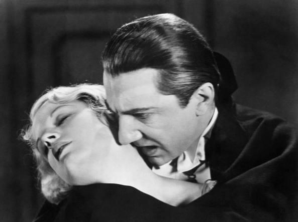 Bela Lugosi interpreta Dracula (archivio Corriere)