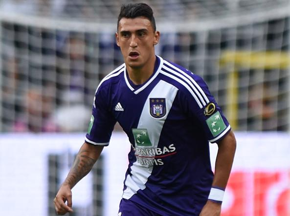 Matias Suarez, attaccante dell'Anderlecht (Getty Images)