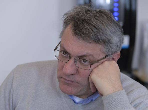 Il leader della Fiom, Maurizio Landini