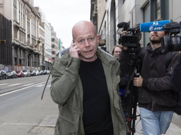 Sven Mary, avvocato difensore di Salah Abdeslam, uno degli attentatori di Parigi (Afp)