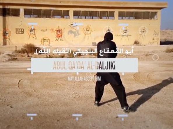 Un frame del video di propaganda diffuso da Isis