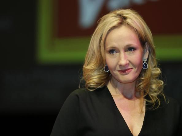 La scrittrice britannica J. K. Rowling (1965)