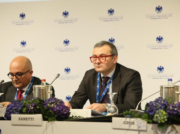 Il viceministro dell'Economia, Enrico Zanetti