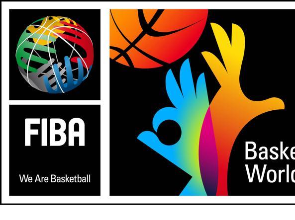 Il logo della Federbasket internazionale