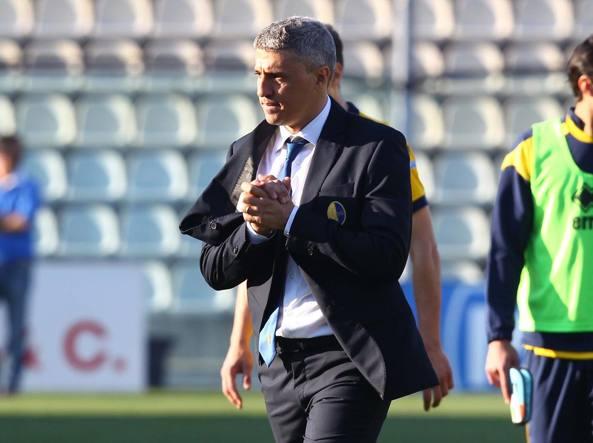 Hernan Crespo, esonerato dalla panchina del Modena dopo la sconfitta contro il Cagliari (LaPresse)